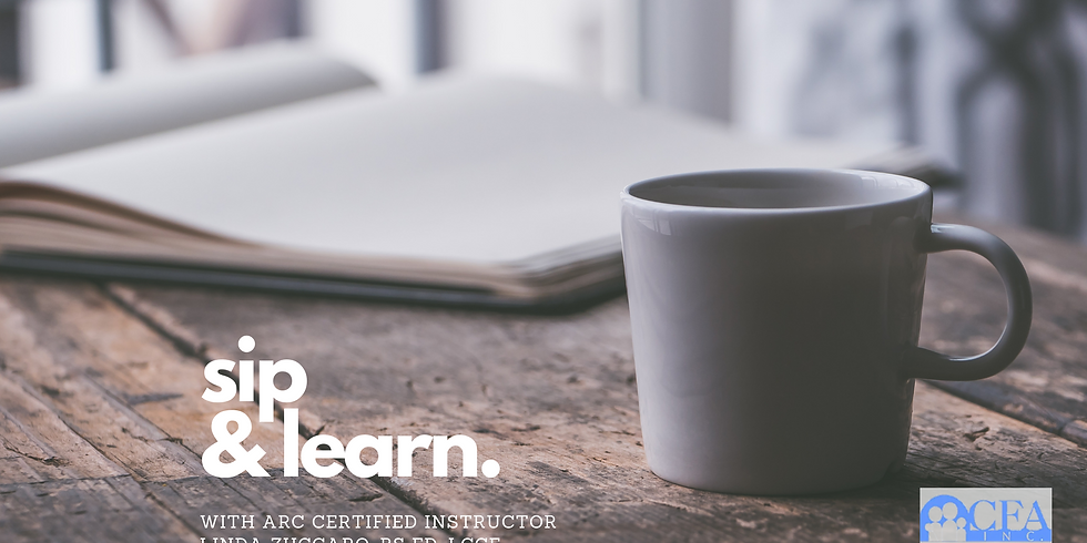 Sip & Learn with Linda Zuccaro, BS Ed, LCCE,  ARC Certified Instructor