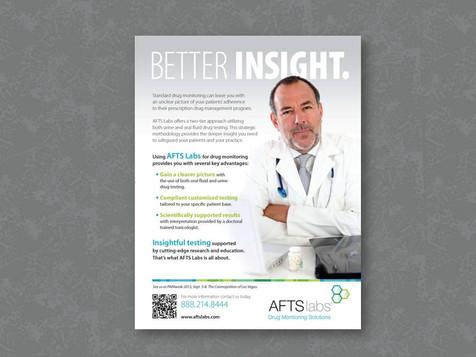 Drug Testing Lab Advertisement