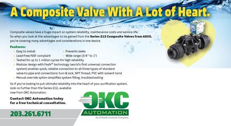 OKC Automation Water Purif Valve Postcard Side B