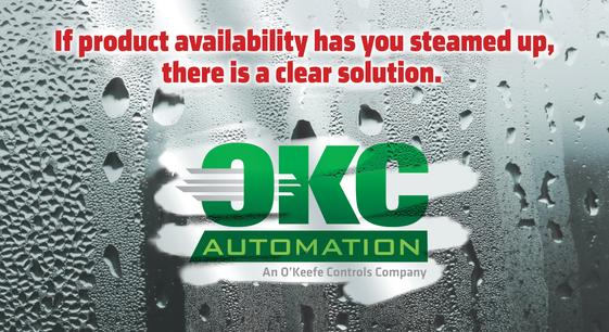 "OKC Automation Product Postcard Sample ""Steam Valve"""