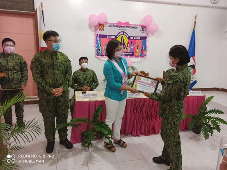 Batanes PPO Joins the National Simultaneous Kick-Off Ceremony of 2021 National Women's Month