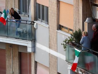 Cidadã brasileira em Roma traz novos relatos emocionantes da quarentena