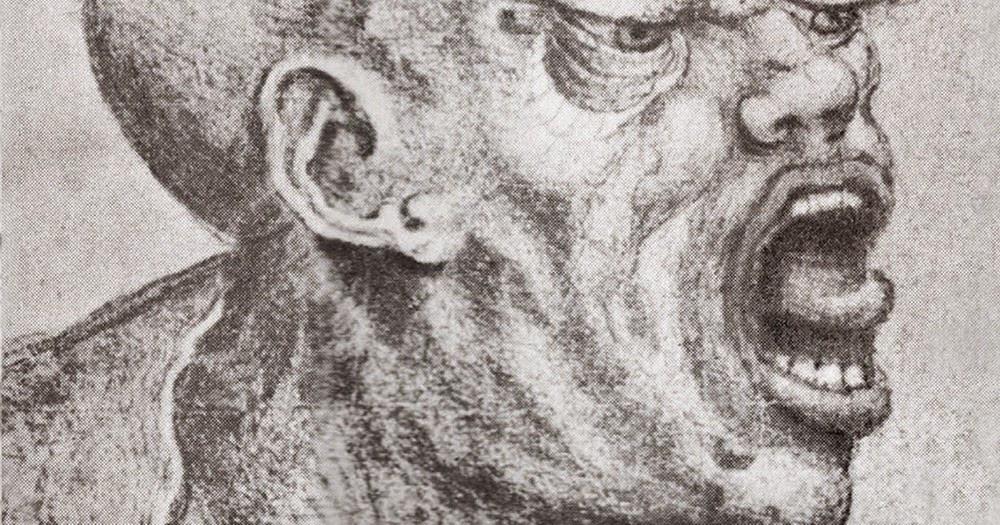 foto: ilustração Cabeça de Dinossauro