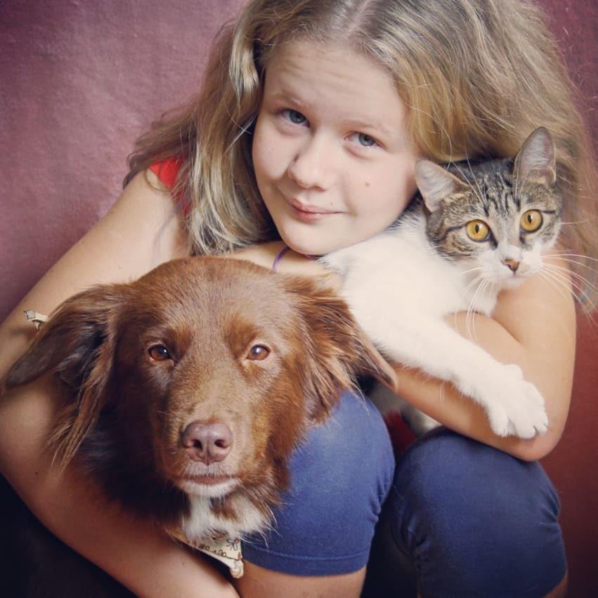 foto do arquivo pessoal da Olívia Ajuda