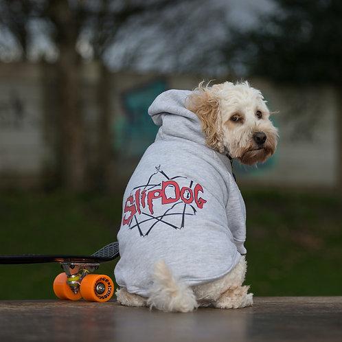 SLIPDOG GREY DOG HOODIE