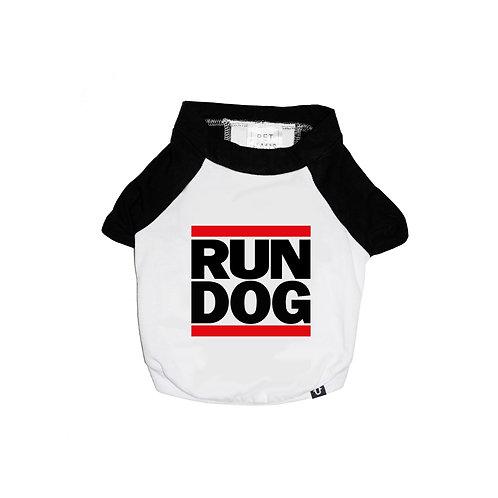 RUN D.O.G RAGLAN DOG T-SHIRT