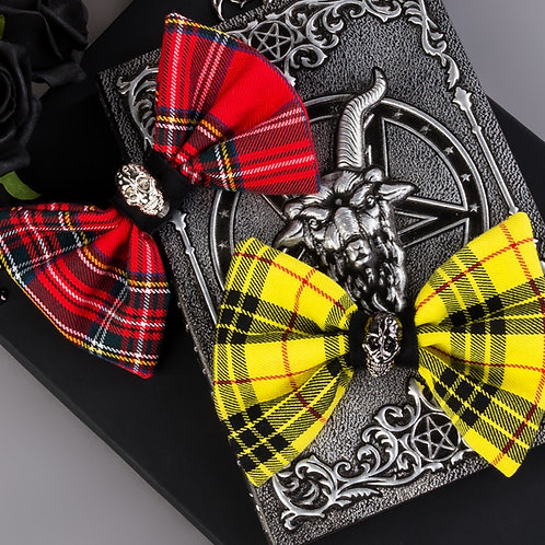 PUNKS NOT DEAD DOG BOW TIE