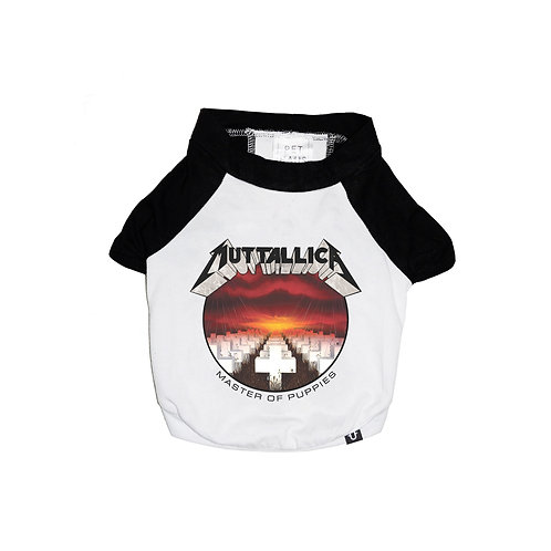 MUTTALLICA RAGLAN DOG T-SHIRT