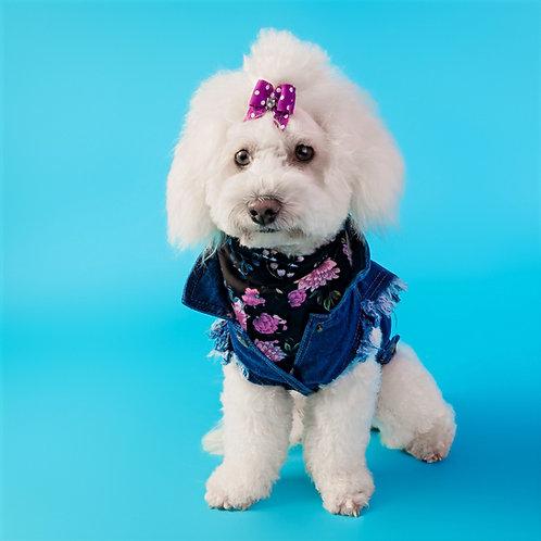 PRETTY GIRL DOG BANDANA