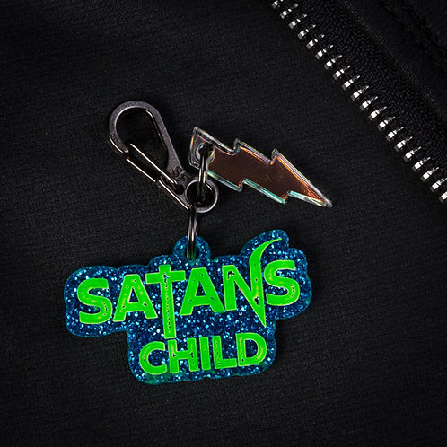 SATANS CHILD DOG TAG