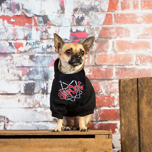 Chihuahua wearing Slipknot dog bandana