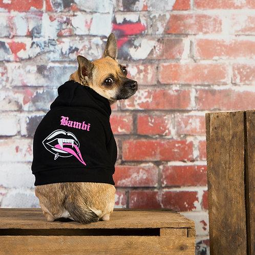 Oh my goth custom dog hoodie