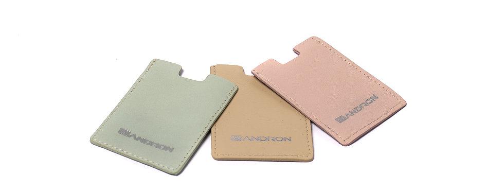 Card holder, Pink Mint