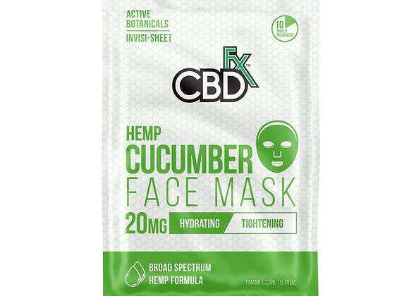 CBD Cucumber Face Mask