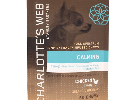 CALMING CHEWS FOR DOGS 60 Count