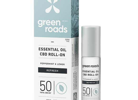50mg Refresh Essential Oil ROLL-ON