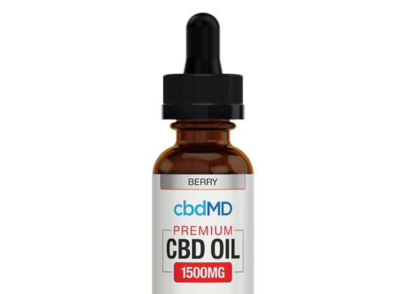 CbdMd 1500mg Berry Flavor (Broad spectrum)