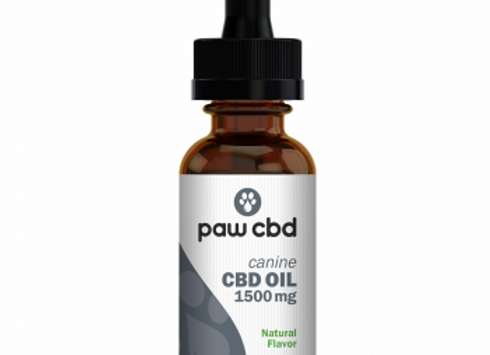 CBD Oil for Dogs 30mL 1500mg