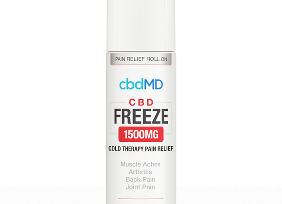 CbdMd CBD Freeze Pain Relief 3oz Roller 1500mg (Broad spectrum)