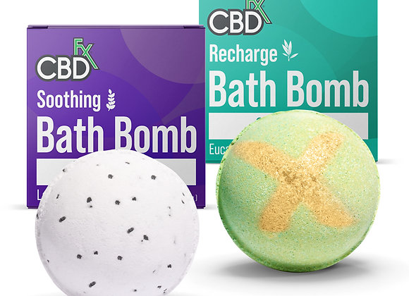 CBD Bath Bombs – Soothing / Recharge 200mg