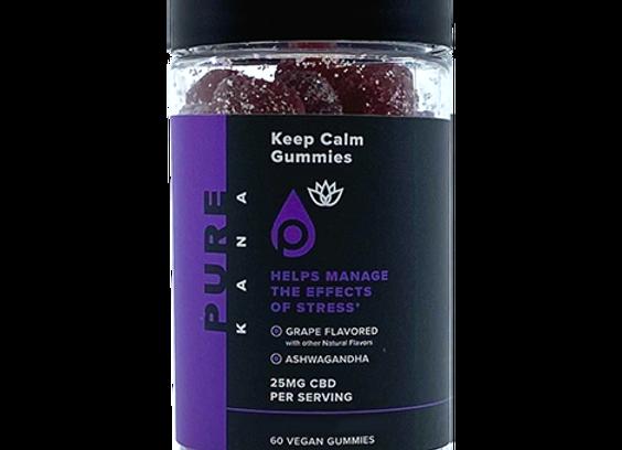 Calm CBD Gummies (Grape) | 25mg CBD (60ct)