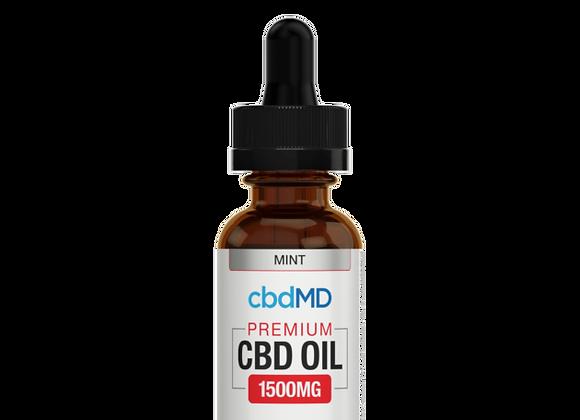CbdMd 1500mg Mint Flavor (Broad spectrum)
