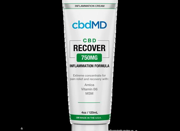 CbdMd CBD Inflammation Formula 4oz Squeeze 750mg (Broad spectrum)
