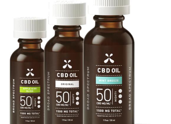 Broad Spectrum CBD OIL - 1500MG