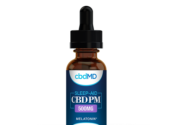CbdMd 500mg Mint Flavor Sleep Aid + Melatonin