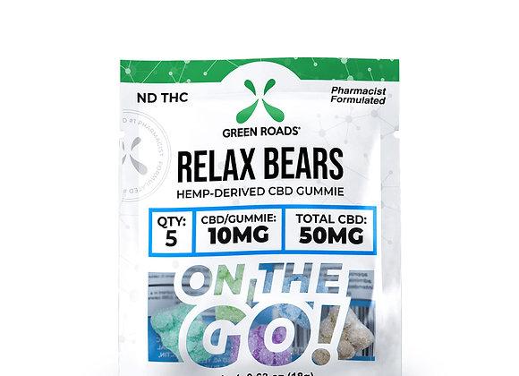 Green Road CBD Relax Bears OTG 50mg
