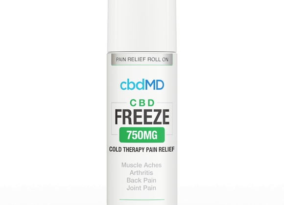 CbdMd CBD Freeze Pain Relief 3oz Roller 750mg (Broad spectrum)
