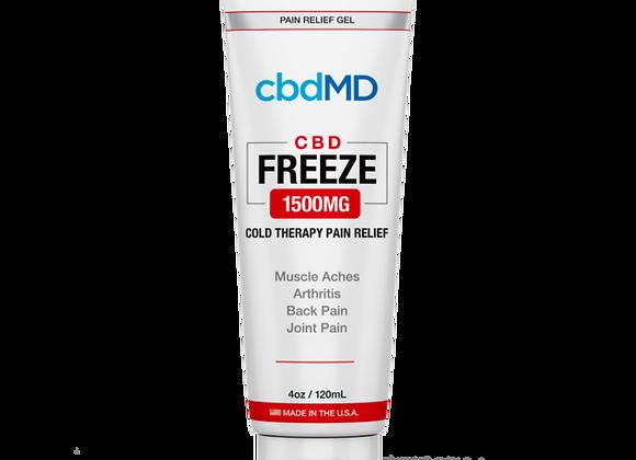 CbdMd CBD Freeze Pain Relief 4oz Squeeze 1500mg (Broad spectrum)