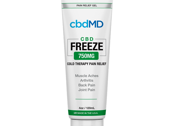 CbdMd CBD Freeze Pain Relief 3oz Squeeze 750mg (Broad spectrum)
