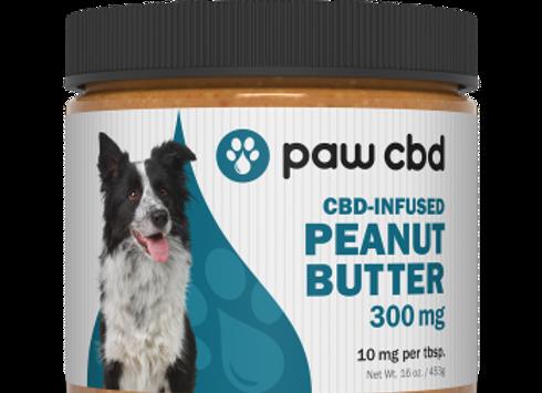 Pet CBD Peanut Butter for Dogs - 300 mg - 16 oz