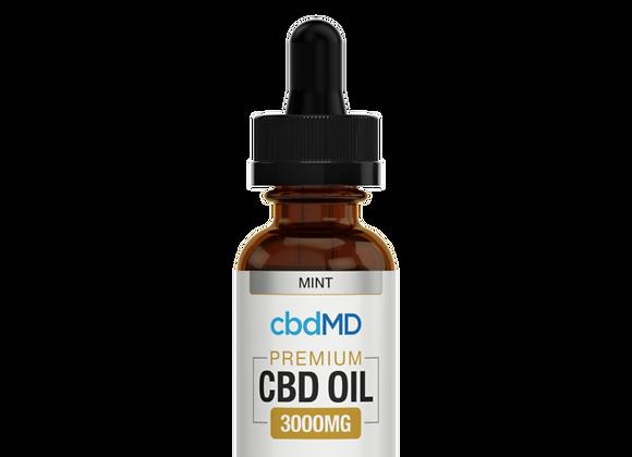CbdMd 3000mg Mint Flavor (Broad spectrum)