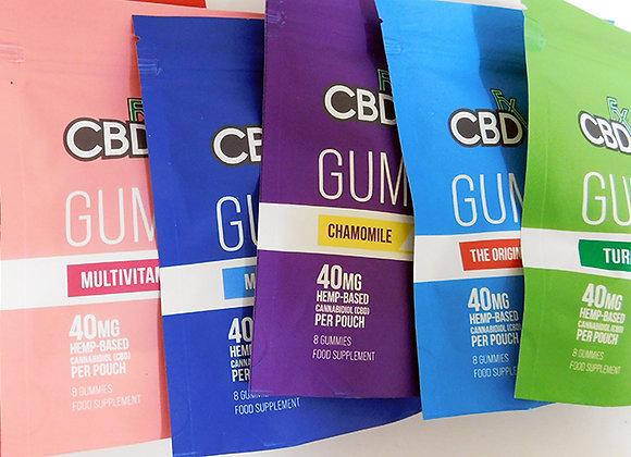 CBDFX gummy pouch 40mg