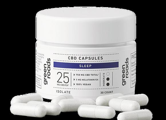 CBD SLEEP CAPSULES - 750MG