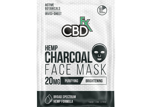 CBD Charcoal Face Mask