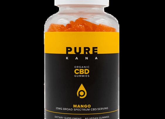 Vegan CBD Gummies Mango – 1500mg per bottle