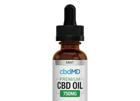 CbdMd 750mg Mint Flavor (Broad spectrum)