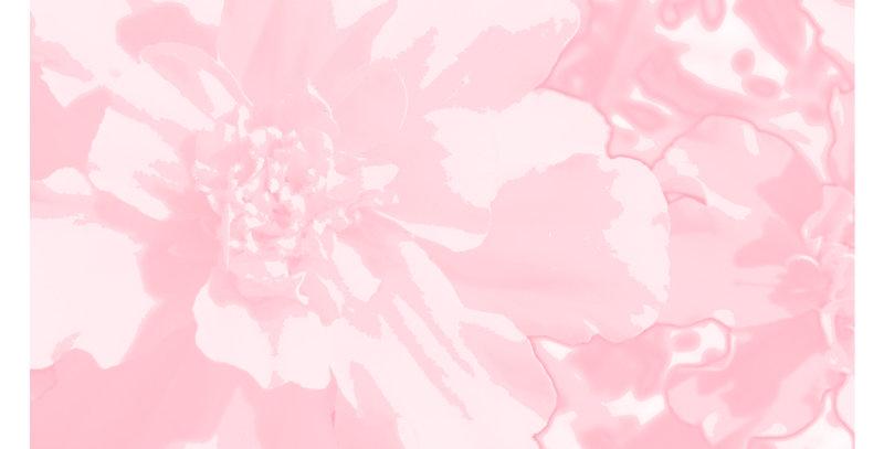 Soft Florals 3 - Blush Pink (Print)