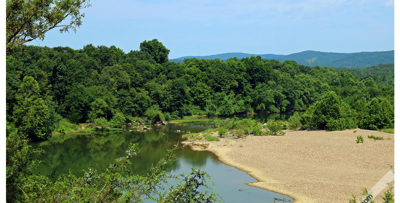 Kanagy's View - Ouachita River 1182 (Metal) - Images by Wheeler