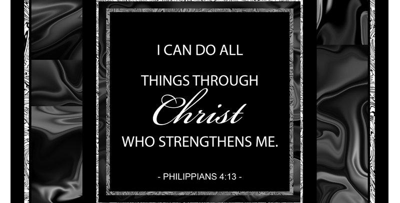 Modern - Philippians 4:13 (Canvas)