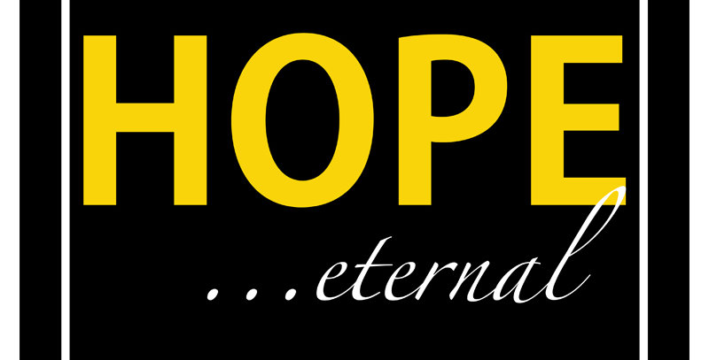 HOPE ...eternal (Canvas - *9 Colors Available*)