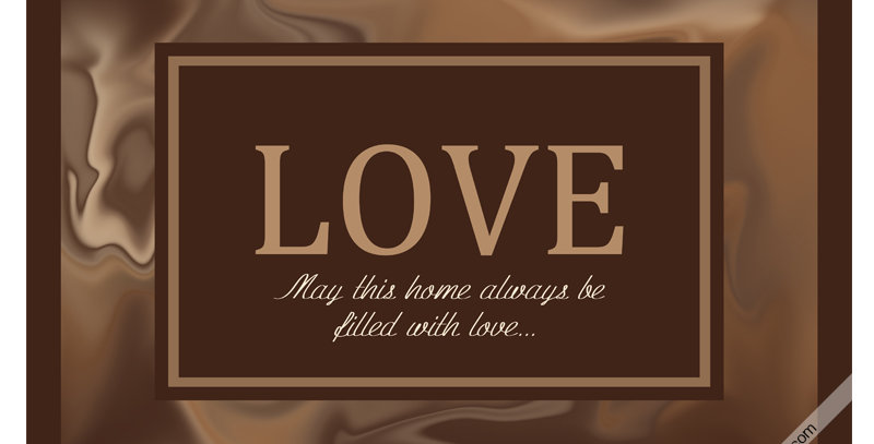 LOVE May this place... (Print)