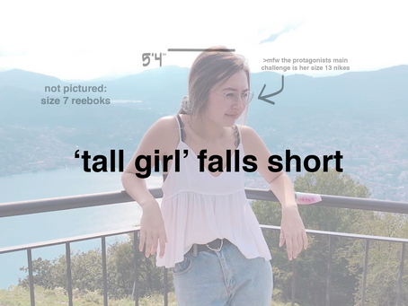 'tall girl' falls short