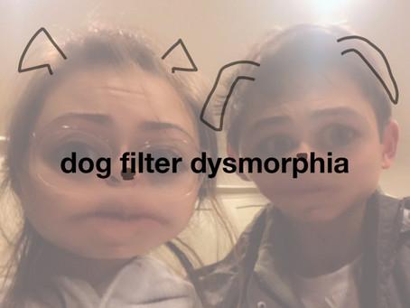 dog filter dysmorphia