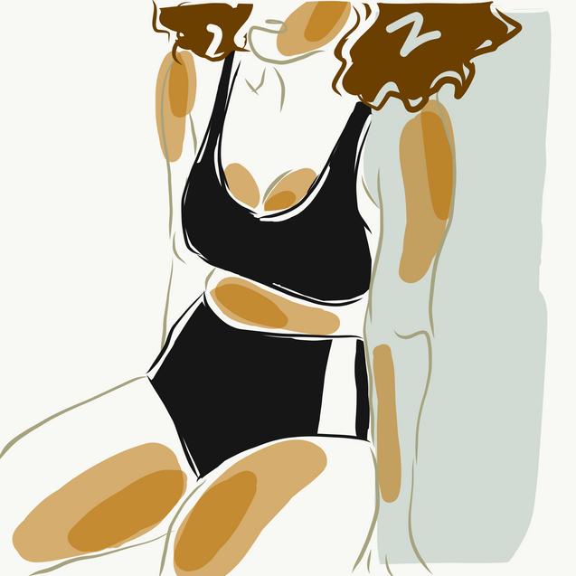 """Bodywork 1"" art print (sizes not exact)"