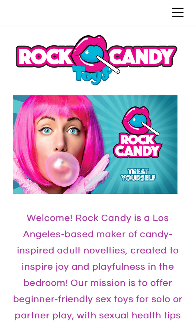 Rock Candy Toys Homepage