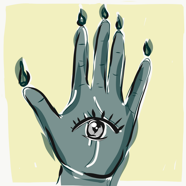 """""""Hand of Glory"""" art print (sizes not exact)"""